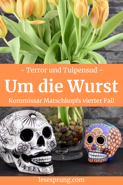 Pin Tulpen und Totenköpfe