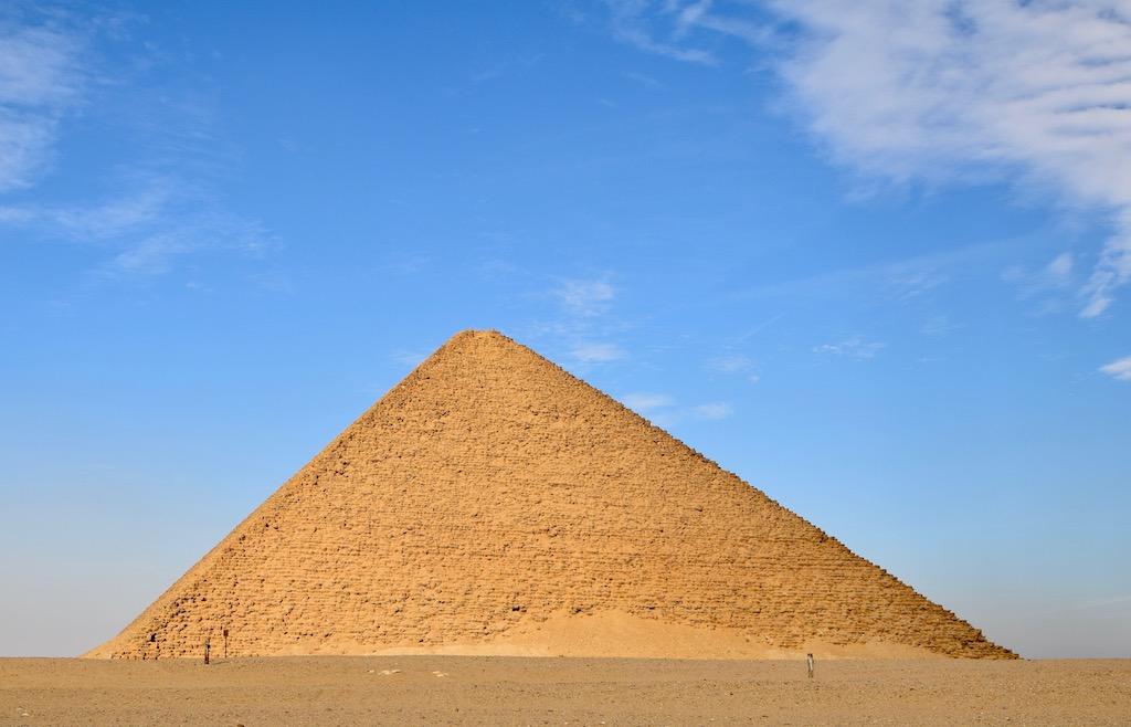 rote Pyramide von Dahshur, Ägypten